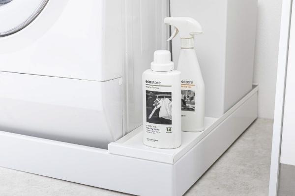 洗濯機防水パン上ラック プレート ホワイト(Washing Machine Drain Rack) ホワイト 4968
