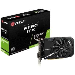 グラフィックボード GeForce GTX 1650 AERO ITX 4G OCV1 [4GB /GeForce GTXシリーズ]