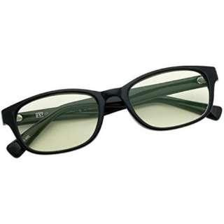 【老眼鏡】PP IRUV1000 AG-002R BLK LGR(ブラック/+1.00)