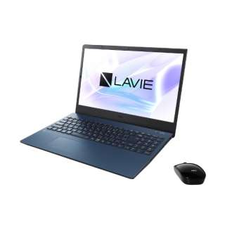 PC-N1565AAL ノートパソコン LAVIE N15(N1565/AA) ネイビーブルー [15.6型 /AMD Ryzen 7 /SSD:256GB /メモリ:8GB /2020年夏モデル]