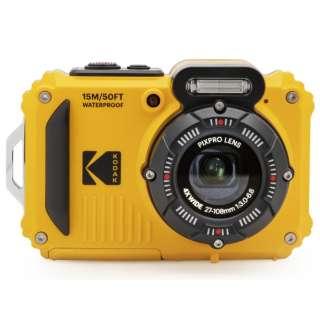 コンパクトデジタルカメラ【防水+防塵+耐衝撃】 スポーツカメラ PIXPRO イエロー WPZ2 [防水+防塵+耐衝撃]