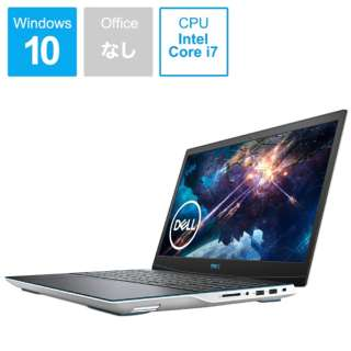 ゲーミングノートパソコン New Dell G3 15 ホワイト NG385-ANLCW [15.6型 /intel Core i7 /SSD:512GB /メモリ:16GB /2020年夏モデル]