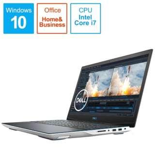 ゲーミングノートパソコン New Dell G3 15 ホワイト NG385-ANHBCW [15.6型 /intel Core i7 /SSD:512GB /メモリ:16GB /2020年夏モデル]