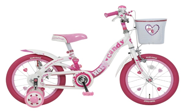 18型 幼児用自転車 ハードキャンディキッズ18(ピンク/シングルシフト)