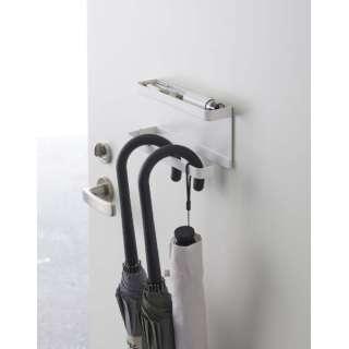 5041 トレー付きマグネット アンブレラホルダー スマート ホワイト(Magnet Umbrella Hanger WH) ホワイト