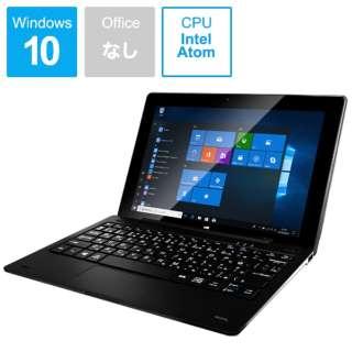 JTW10-4G32G-K ノートパソコン / Windowsタブレット (セパレート型) [10.1型 /intel Atom /eMMC:32GB /メモリ:4GB /2020年6月モデル]
