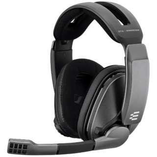 1000231 ゲーミングヘッドセット EPOS/sennheiser GSP-370 ブラック [ワイヤレス(USB) /両耳 /ヘッドバンドタイプ]