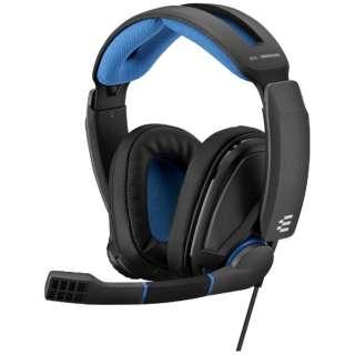 1000238 ゲーミングヘッドセット EPOS/sennheiser GSP-300 ブラックブルー [φ3.5mmミニプラグ /両耳 /ヘッドバンドタイプ]