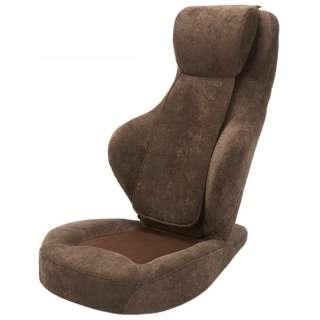 3Dマッサージシート座椅子 ブラウン MS-05-BR