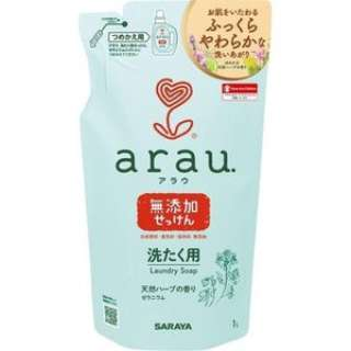 arau洗濯用せっけんゼラニウム 替え 1L アラウ