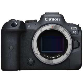 EOS R6 ミラーレス一眼カメラ [ボディ単体] キヤノン CANON 通販 ...