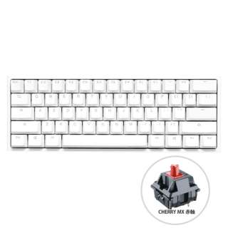 dk-one2-rgb-mini-pw-red-rat ゲーミングキーボード One 2 Mini RGB(英語配列) Pure White Cherry 赤軸 [USB /有線]