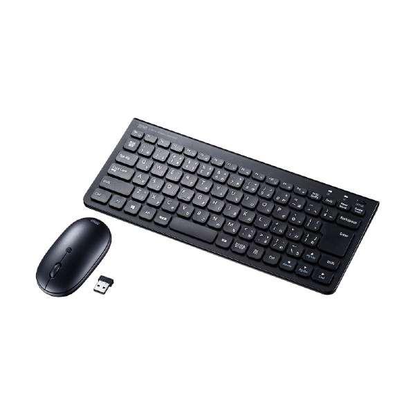 SKB-WL32SETBK キーボード・マウスセット ブラック [USB /ワイヤレス]