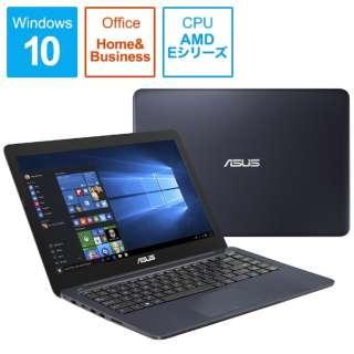 R417YA-G2019TS ノートパソコン ブルー [14.0型 /AMD Eシリーズ /SSD:128GB /メモリ:4GB]