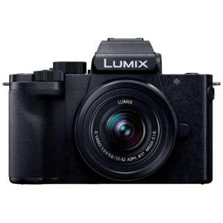 DC-G100K-K VLOGミラーレス一眼カメラ Kキット LUMIX G100 ブラック [ズームレンズ]