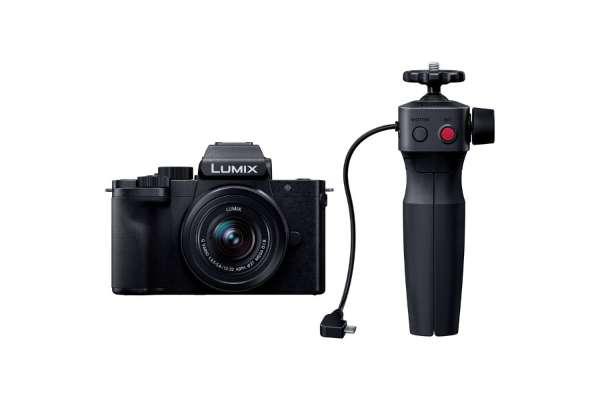 Panasonic「LUMIX G100 VLOGミラーレス一眼カメラ Vキット(トライポッドグリップ付)」DC-G100V-K