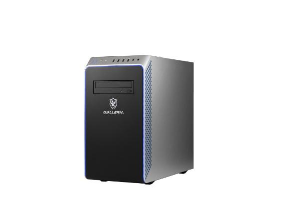 THIRDWAVE THIRDWAVE ゲーミングデスクトップパソコン GALLERIA モニター無し HDD:1TB SSD:500GB メモリ:8GB /2020年08月モデル UM5R-G60S-R203