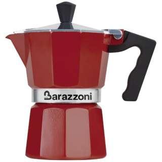 直火用 エスプレッソコーヒーメーカー3カップ LA CAFFETTIERA ALLUMINIO E COLORATA 83000550330