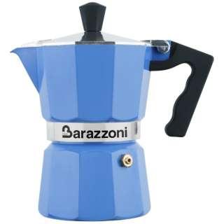 直火用 エスプレッソコーヒーメーカー1カップ LA CAFFETTIERA ALLUMINIO E COLORATA 83000550157