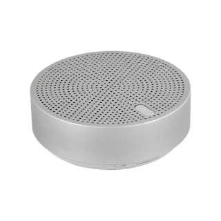 ブルートゥーススピーカー OWL-BTSP03S-SI シルバー [Bluetooth対応]