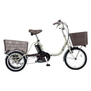 18/16型 電動アシスト三輪自転車 ビビライフ(STチタンシルバー/内装3段変速) BE-ELR833T【2020年モデル】 【組立商品につき返品不可】