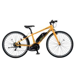 700×38C 電動アシスト自転車 ジェッター(サンゴールド/外装8段変速/フレームサイズ390mm)BE-ELHC339Y【2020年モデル】 【組立商品につき返品不可】