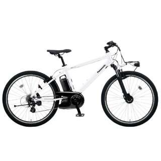 26型 電動アシスト自転車 ハリヤ(クリスタルホワイト/外装7段変速)BE-ELH342AF【2020年モデル】 【組立商品につき返品不可】