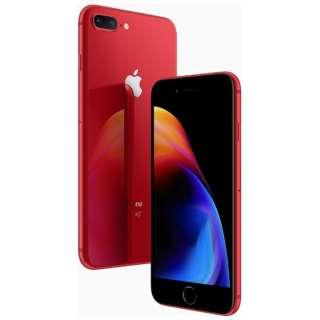 iPhone8 Plus 256GB RD MRTM2J/A 国内版Simフリー MRTM2J/A