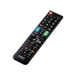 かんたんTVリモコン第2弾 日立・Wooo用 ブラック ERC-TV02XBK-HI