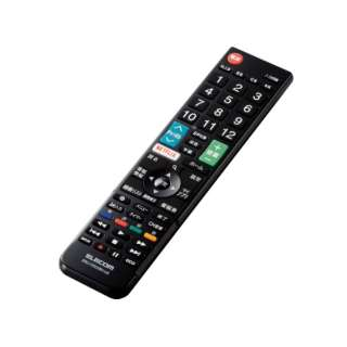 かんたんTVリモコン第2弾 LG用 ブラック ERC-TV02XBK-LG