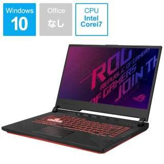 ゲーミングノートパソコン ROG Strix G15 ブラック G512LI-I7G1650T [15.6型 /intel Core i7 /SSD:512GB /メモリ:16GB /2020年7月モデル]