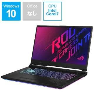 ゲーミングノートパソコン ROG Strix G17 ブラック G712LV-I7R2060 [17.3型 /intel Core i7 /SSD:512GB /メモリ:16GB /2020年7月モデル]