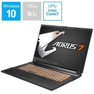 AORUS7MB-7JP1130SH ゲーミングノートパソコン AORUS 7 [17.3型 /intel Core i7 /SSD:512GB /メモリ:16GB /2020年7月モデル]