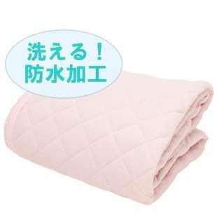 【敷パッド】メリーナイト(Merry Night)  洗える!防水加工 敷パッド  シングルサイズ(100×205cm/ピンク)