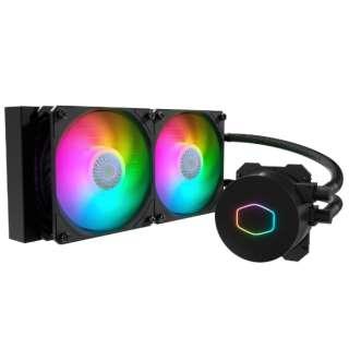 水冷CPUクーラー MasterLiquid ML240L V2 ARGB MLW-D24M-A18PA-R2