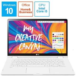 14T90N-VR51J1 ノートパソコン LG gram T90N(コンバーチブル型) [14.0型 /intel Core i5 /SSD:256GB /メモリ:8GB /2020年7月モデル]