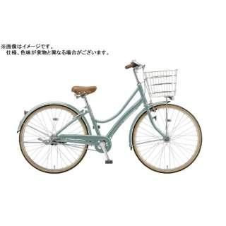 26型 自転車 エブリッジL(E.Xモダングリーン/シングルシフト) E60L1【2020年モデル】 【組立商品につき返品不可】