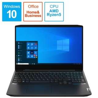 82EY0057JP ゲーミングノートパソコン IdeaPad Gaming 350 ブラック [15.6型 /AMD Ryzen 5 /SSD:512GB /メモリ:8GB /2020年7月モデル]