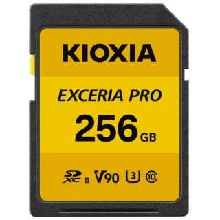 SDXCカード UHS-II EXCERIA PRO KSDXU-A256G [256GB /Class10]