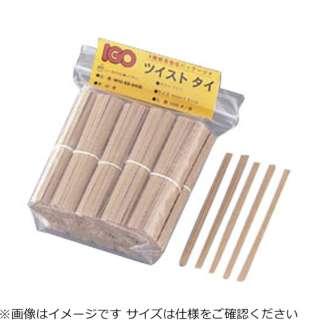 紙タイ 和紙調 カット品 4mm×8cm クラフト(1000本入) <XTI3701>