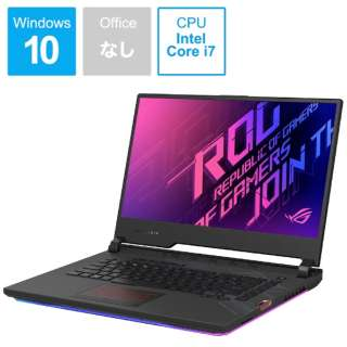 ゲーミングノートパソコン ROG Strix Scar 15 ブラック G532LWS-I7R2070S [15.6型 /intel Core i7 /SSD:512GB /メモリ:16GB /2020年8月モデル]