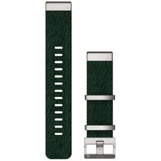 MARQ QuickFit22mm ジャカード織ナイロングリーン 010-12738-32