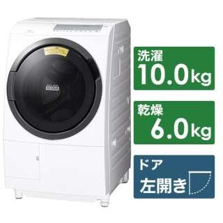 BD-SG100FL-W ドラム式洗濯機 [洗濯10.0kg /乾燥6.0kg /ヒーター乾燥 /左開き]