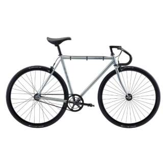 700×25C クロスバイク FEATHER(Matte Metal/シングルスピード・52cm:適応身長 168~175cm) 【2021年モデル・組立商品につき返品不可】
