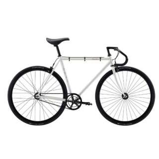 700×25C クロスバイク FEATHER(Bone White/シングルスピード・56cm:適応身長 178~185cm) 【2021年モデル・組立商品につき返品不可】
