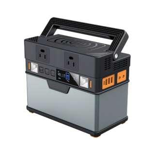 支持减少移动电源100500mAh 361Wh露营户外在车中过夜防灾灾祸停电PowerDelivery PD60W输入输出的黑铜色OWL-LPBL100501-GM