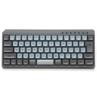 キーボード Majestouch MINILA-R Convertible 赤軸 スカイグレー FFBTR66MRL/NSG [Bluetooth・USB /有線・ワイヤレス]