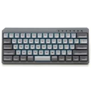 キーボード Majestouch MINILA-R Convertible 青軸(英語配列) スカイグレー FFBTR63MC/ESG [Bluetooth・USB /有線・ワイヤレス]