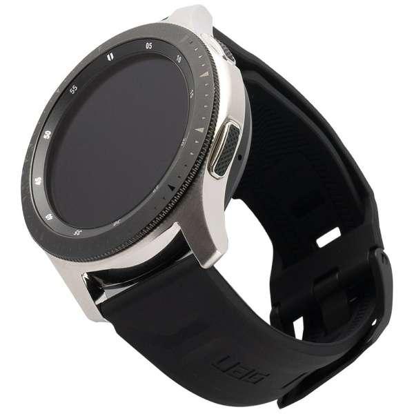 UAG社製 Galaxy Watchバンド GalaxyWatch 46mm用 SCOUTシリーズ(ブラック) UAG-RGWLS-BK