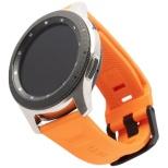 UAG社製 Galaxy Watchバンド GalaxyWatch 46mm用 SCOUTシリーズ(オレンジ) UAG-RGWLS-OR